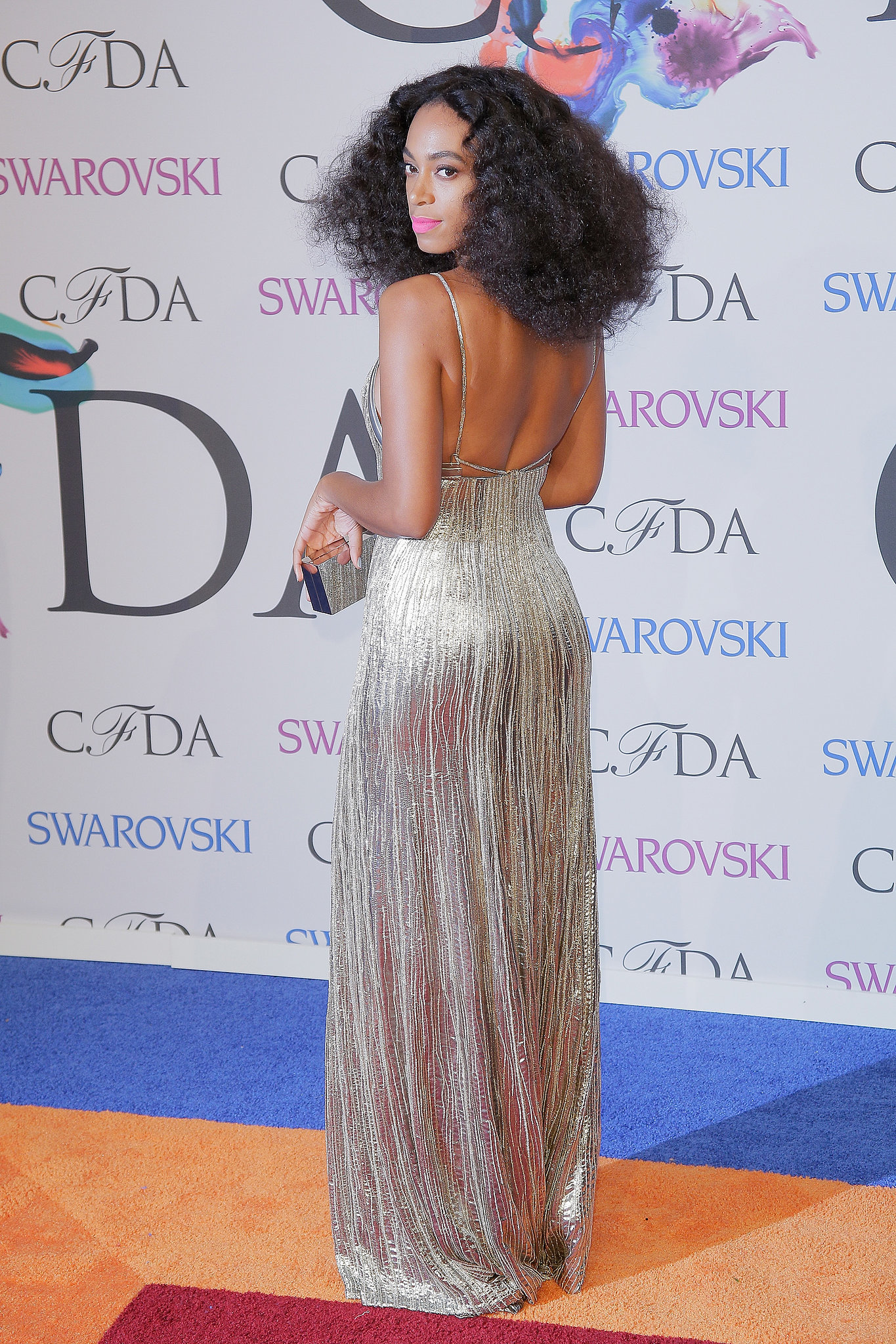 At the CFDA Fashion Awards, Solange sparkled from every angle.