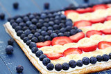 Fruity Flag Pizza