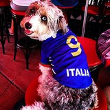 There's nothing like watching the Italy game at the bar with your buds. Source: Instagram user dare2detox