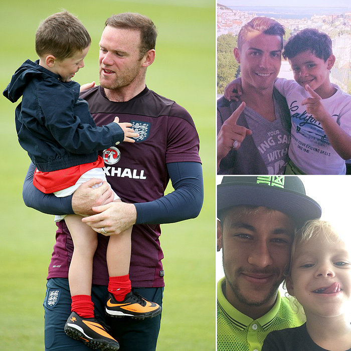 The World Cup's Hottest Dads Are Even Bigger Stars in the Eyes of Their Kids