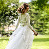 Olivia Palermo Wore Shorts (and Manolos) to Her Wedding