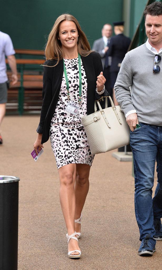 Kim Sears's Wimbledon Style