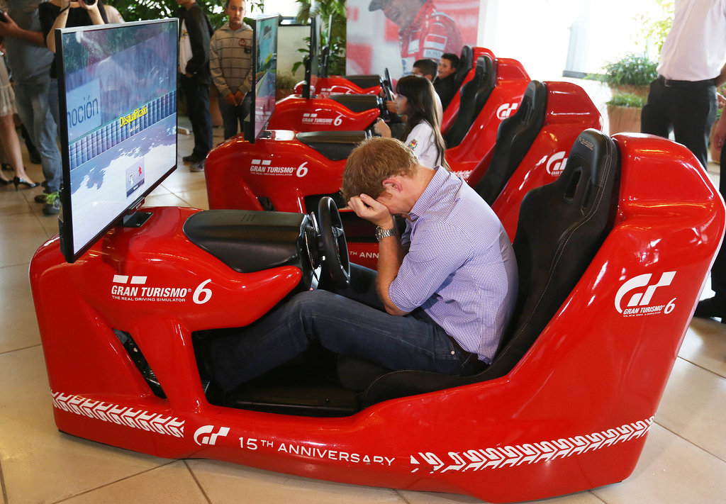 When He Tried So Hard to Be Good at Simulated Driving