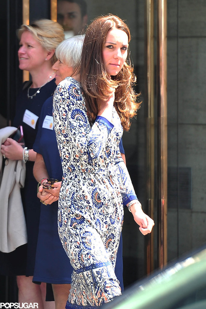 Kate Middleton Makes Monday Look Good in London