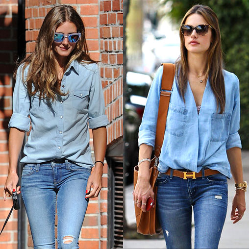 Rock double denim SHOP : The Trend