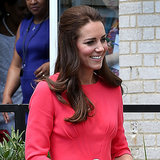 Kate Middleton Pictures at Blessed Sacrament School London