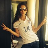 Celebrity Instagram Pictures From 2014 FIFA World Cup Soccer