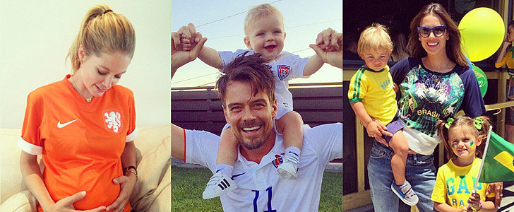 Stars Show Their World Cup Spirit on Social Media!