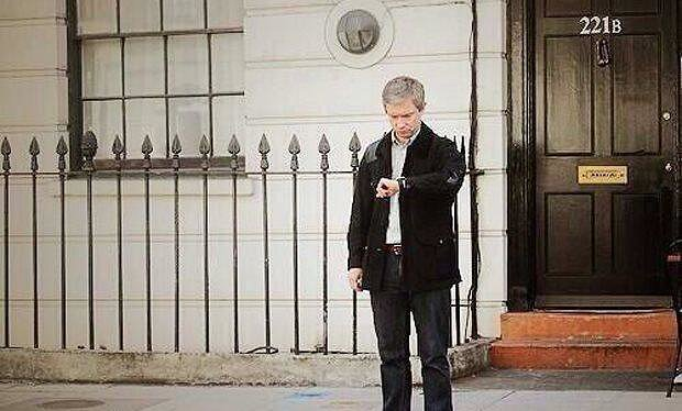 """Sherlock Fandom waiting for January 2015 #221back"" Source: Twitter user TheDeductionGod"