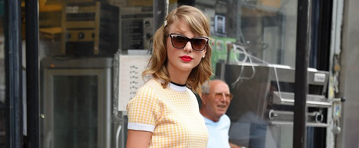 Taylor Swift Introduces Us to Retro Prep