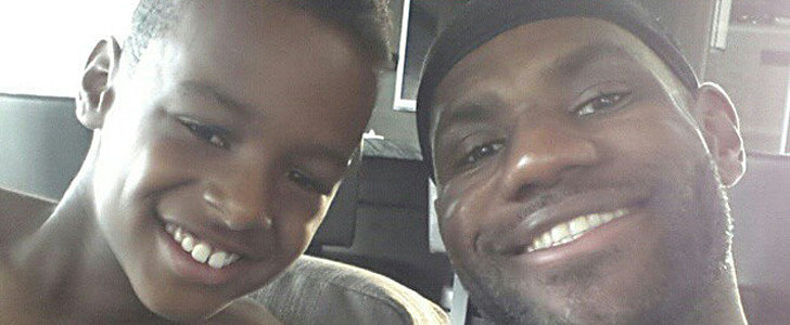 LeBron James Completely Freaks Out as His Son Catches a Giant Fish