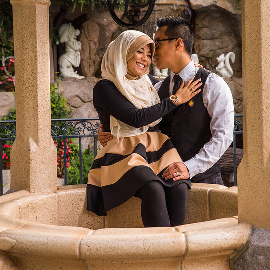 Live Out Your Disney Princess Fantasies With These Engagement Ideas