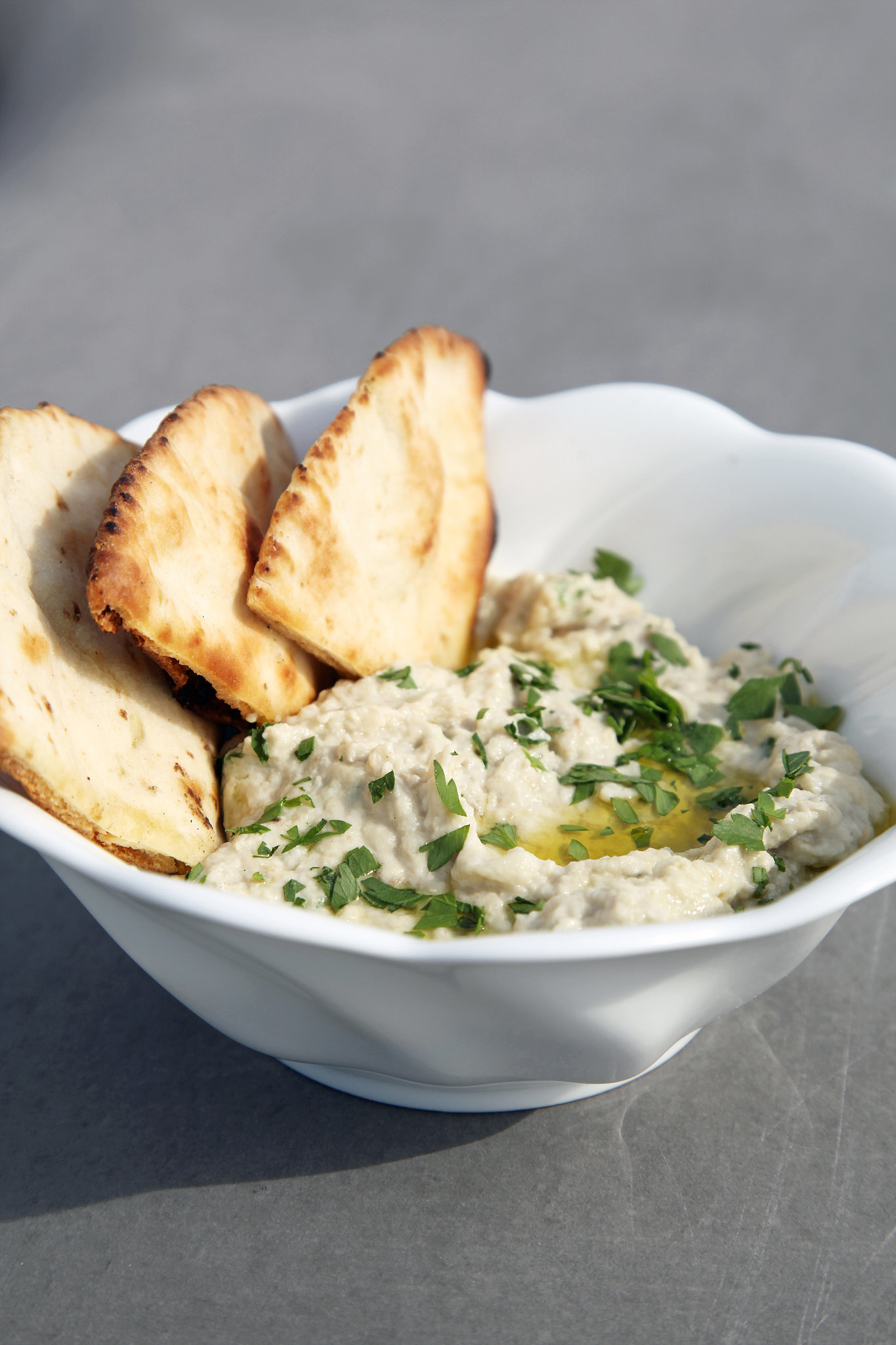 Simple Eggplant Dip to See You Through Summer