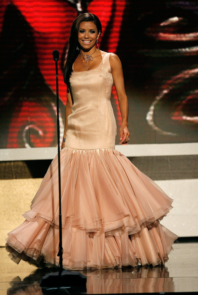 This was one of MANY outfit changes for Eva Longoria at the ALMA awards back in 2007 — none of them compared to this ballerina-meets-mermaid dress, though.