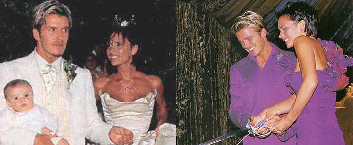 Victoria Beckham Celebrates a Big Day With Throwback Wedding Snaps