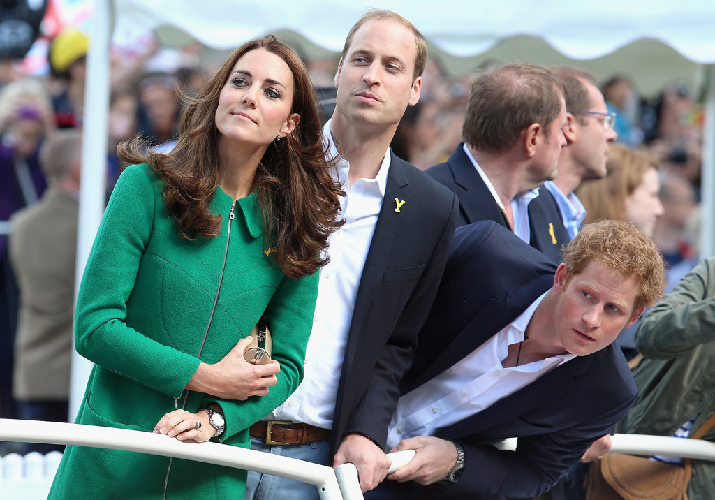 Kate, William, and H