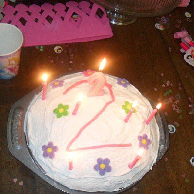 Flash in the Pan Cake