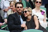 Elsa Pataky stayed close to Chris Hemsworth.