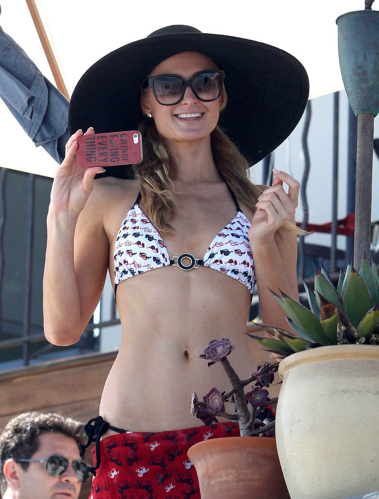 Paris Hilton's Bikini BBQ Will Give You Early 2000s Nostalgia