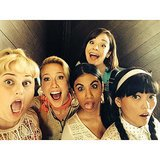The Bellas, in a funny-face moment. Source: Instagram user therealannacamp