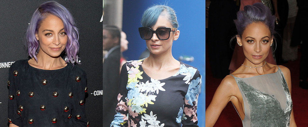 10 Times Nicole Richie Showed Us Her Best Accessory Is Her Coloured Hair