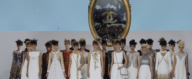 Karl Lagerfeld Had 1 Woman in Mind at Chanel's Couture Show