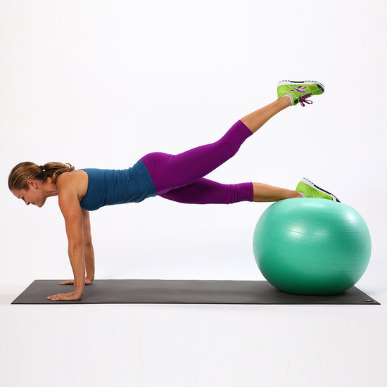 Tighten Up Your Bottom With These Exercise-Ball Moves
