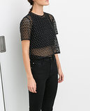 Zara Cutout Top