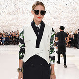 Olivia Palermo at Paris Haute Couture Fashion Week 2014