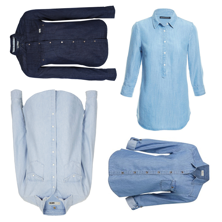Editor's Picks Cute Chambray Shirts