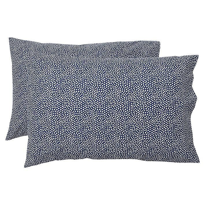 The larger the polka dot, the more juvenile the print tends to look. That's why we love the Mini Dot Sheet Set's ($20-$109, originally $33-$109) sophisticated spin on the classic print. A flurry of tiny dots in varying sizes creates a pattern that's hard to identify at first glance. You really can't go wrong with the navy or gray color options.