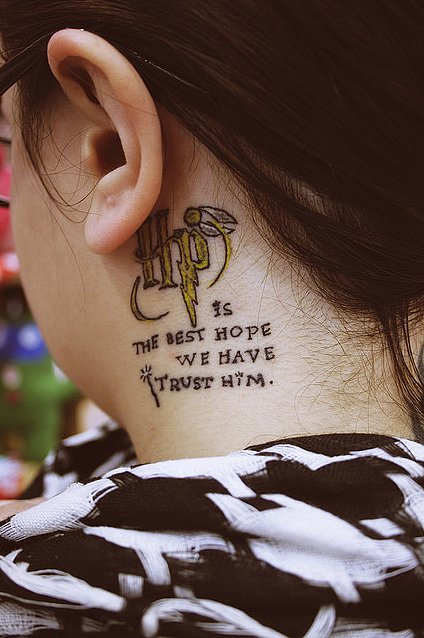 16 Harry Potter Fans Tell the Stories Behind Their Tattoos