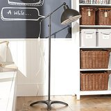 Choose floor lamps that have the character of smaller desk lamps, like this cool Industrial Floor Lamp ($199).