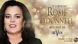 Rosie O'Donnell Officially Returns to 'The View'