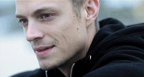 And then you see Joel Kinnaman in other things and you're like, OK, that's why.