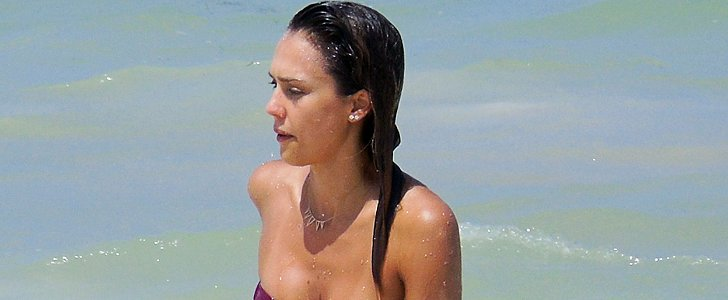 Exclusive: Jessica Alba Flaunts Her Bikini Body in Mexico