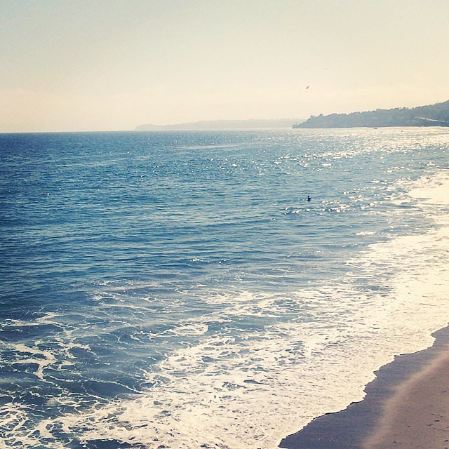Rachel Zoe took a break in Malibu, CA.  Source: Instagram user rachelzoe
