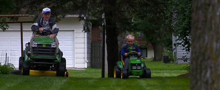 3-Year-Old Finds Unlikely Playmate in His 89-Year-Old Neighbor