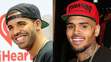 Chris Brown and Drake Hit the Studio: See the Pic!