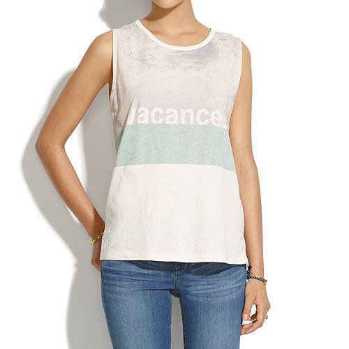 Madewell Vacances Shift Tank