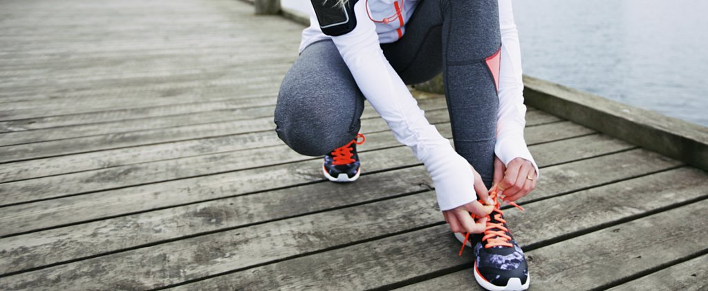 A Running Shoe Habit That Helps Prevent Shin Splints