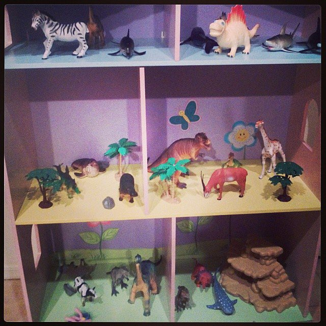 Dino Dollhouse Takeover