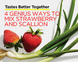 Tastes Better Together: 4 GENIUS Ways to Mix Strawberry and Scallion