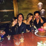 Sofia Vergara With Joe Manganiello on Her Birthday