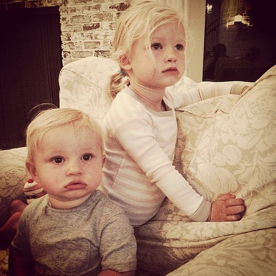 Eric Johnson And Jessica Simpson's Kids Ace & Maxwell