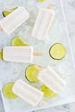 Spicy Coconut Lime Pops