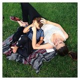 Miranda Kerr cuddled up with her son, Flynn. Source: Instagram user mirandakerr
