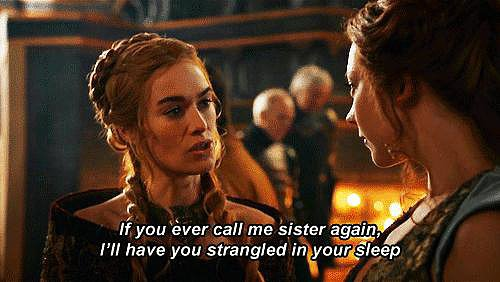 Horrified by your future sister-in-law? Margaery Tyrell deals with a monster.