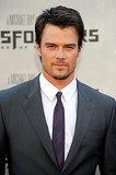 Josh gave a sexy stare in June 2009 at the premiere of Transformers: Revenge of the Fallen in LA.
