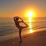 Gisele struck a yoga pose in March 2014. Source: Instagram user giseleofficial